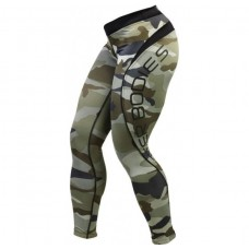 Better Bodies Camo long tight, Green Camo