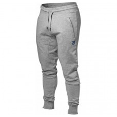 Better Bodies Tapered Joggers, Grey Melange
