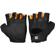 Better Bodies Womens Traning Glove, Black/Orange