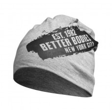 Better Bodies Jersey Beanie, Grey