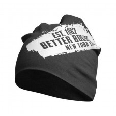 Better Bodies Jersey Beanie, Black