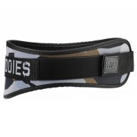 Better Bodies Camo Gym Belt, Green Camo Print