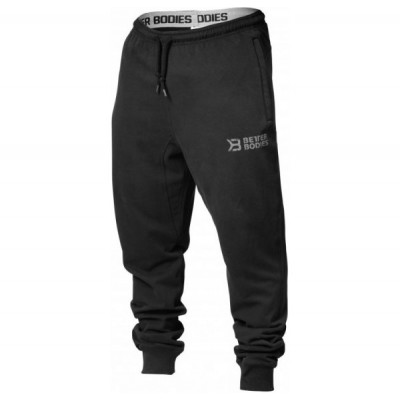 Better Bodies Tapered Sweatpant, Black