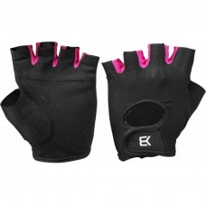 Better Bodies Womens Traning Glove, Black/Pink