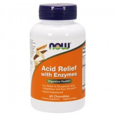 NOW Foods Acid Relief Chew Enzymes
