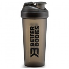 Better Bodies Fitness Shaker, Black/Black
