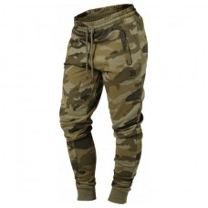 Better Bodies Jogger Sweat Pants, Green Camo