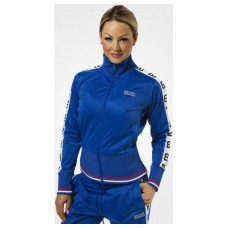 Better Bodies Trinity Track Jacket, Strong Blue
