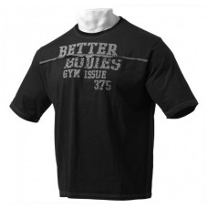 Better Bodies Big Size Tee, Black