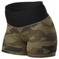 Better Bodies Chelsea Hotpant, Dark Green Camo