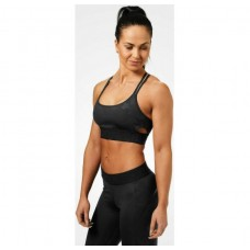 Better Bodies Astoria sports bra, Black camo
