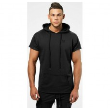 Better Bodies Bronx T-shirt hoodie, Wash black