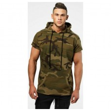 Better Bodies Bronx T-shirt hoodie, Military camo