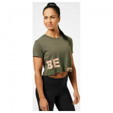 Better Bodies Astoria cropped tee, Wash green