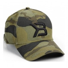 Better Bodies Baseball Cap, Green Camo