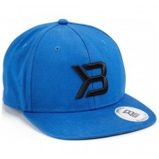 Better Bodies Twill Flat Bill Cap, Strong Blue