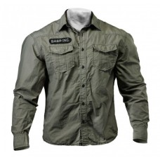 GASP Army Shirt, Washed Khaki