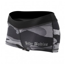 Better Bodies Camo Hotpants Grey