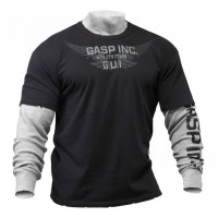 GASP Army L/S 2in1, Black/Grey
