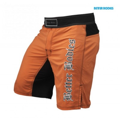 Better Bodies Flex Board Short, Orange/Black