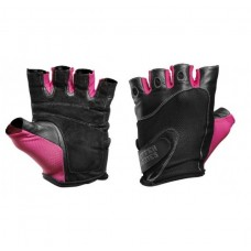 Better Bodies Womens Fitness Gloves, Black/Pink