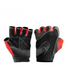 Better Bodies Pro Lifting Gloves, Black/Red