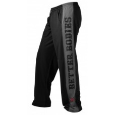 Better Bodies Mesh Gym Pant Black\Grey