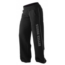 Better Bodies Baggy Soft Pant, Black
