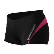 Better Bodies Cherry Hill Hotpant, Black/Pink