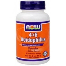 NOW Foods Acidophilus 4x6 Billion