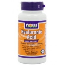 NOW Foods Hyaluronic Acid 100 mg 2x Plus
