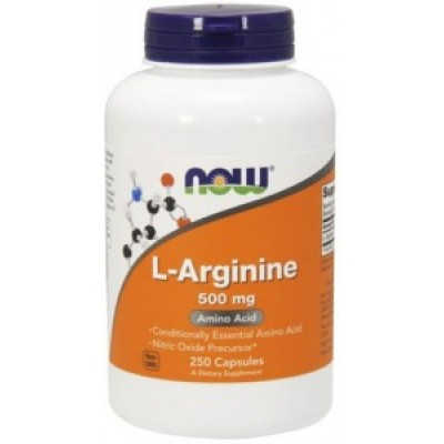 NOW Foods Arginine 500 mg
