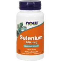 NOW Foods Selenium 200 mcg