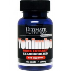 Ultimate Nutrition Yohimbe Bark Extract 800