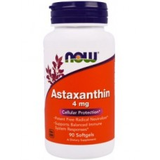 NOW Foods Astaxanthin 4 mg